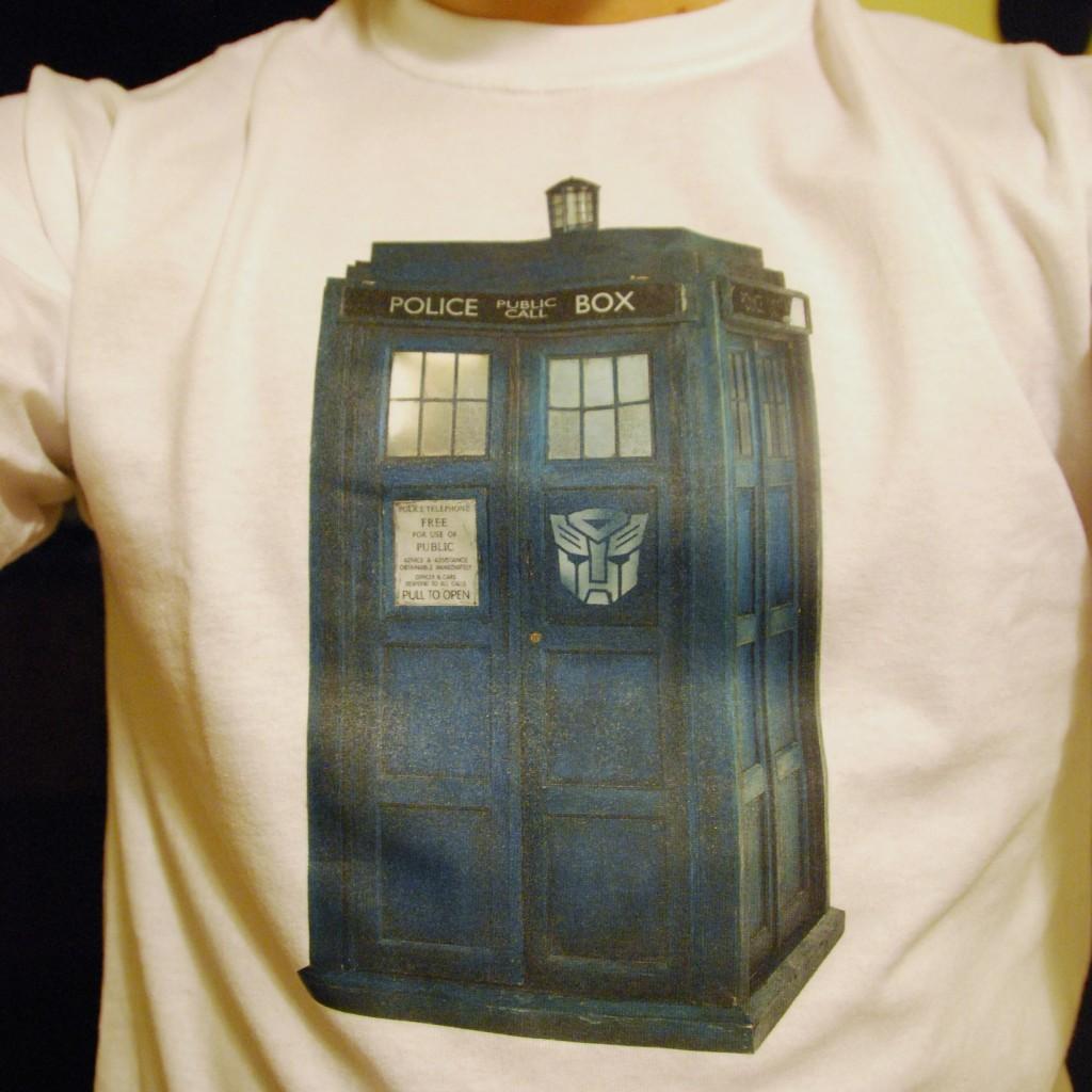Autobot TARDIS shirt