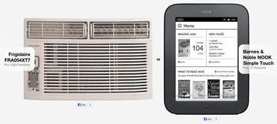 Air conditioner vs NOOK