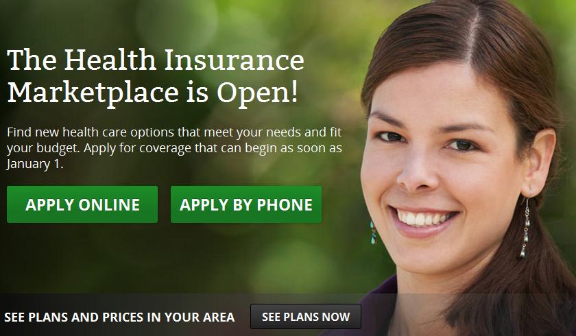 HealthCare.gov woman