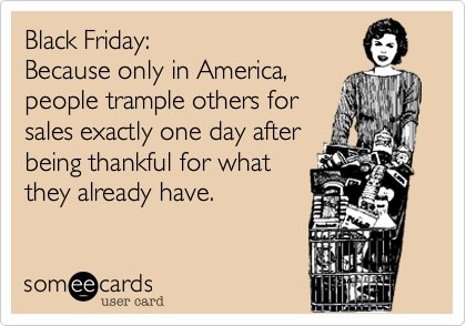 Black Friday someecard