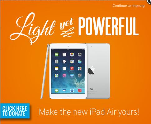 NHPR iPad Air