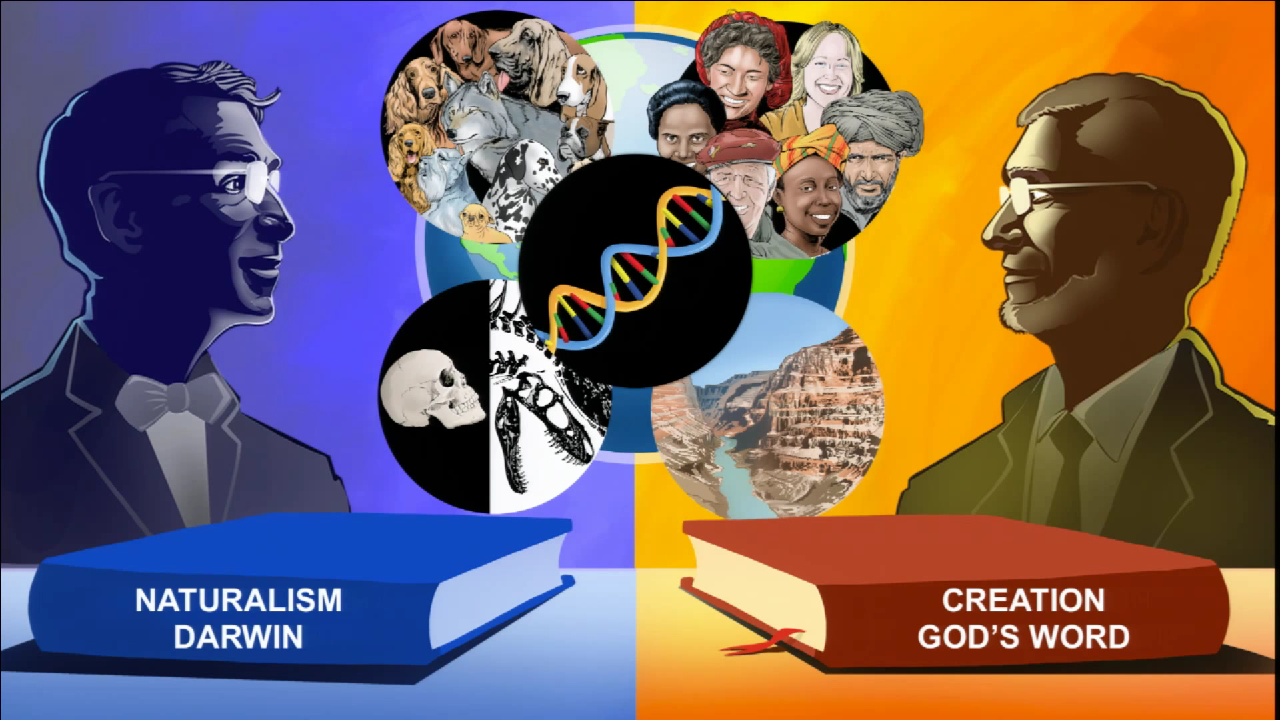 Ken Ham likes having cartoons of himself drawn (part 3).