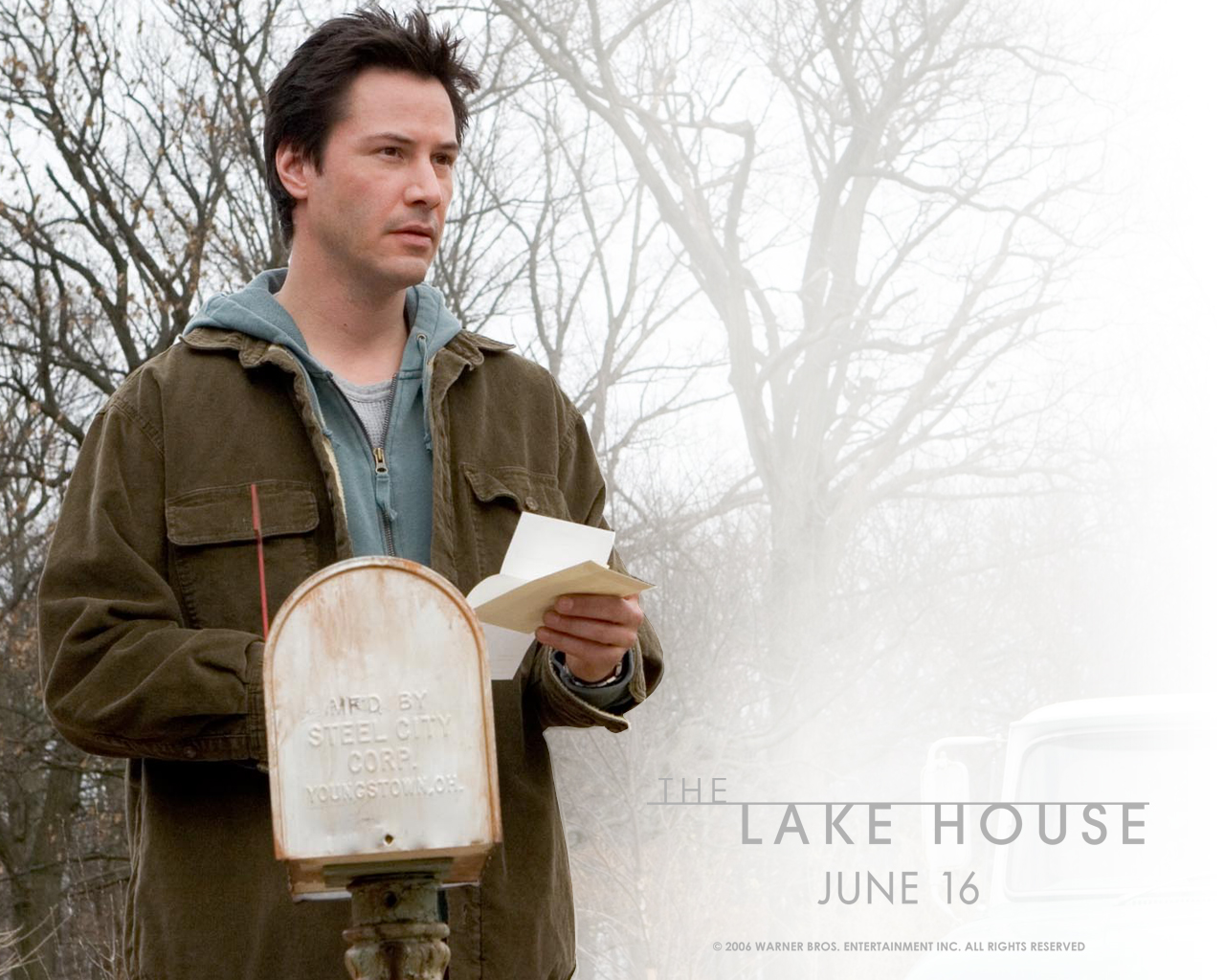 Keanu Reeves in The Lake House Wallpaper 2 1280