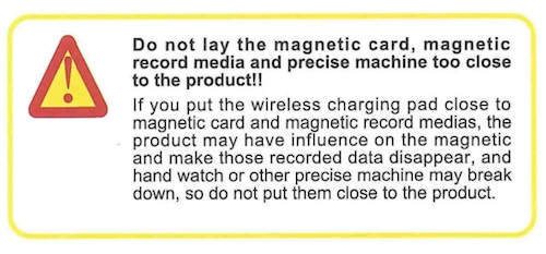 Q9a do not lay the magnetic card