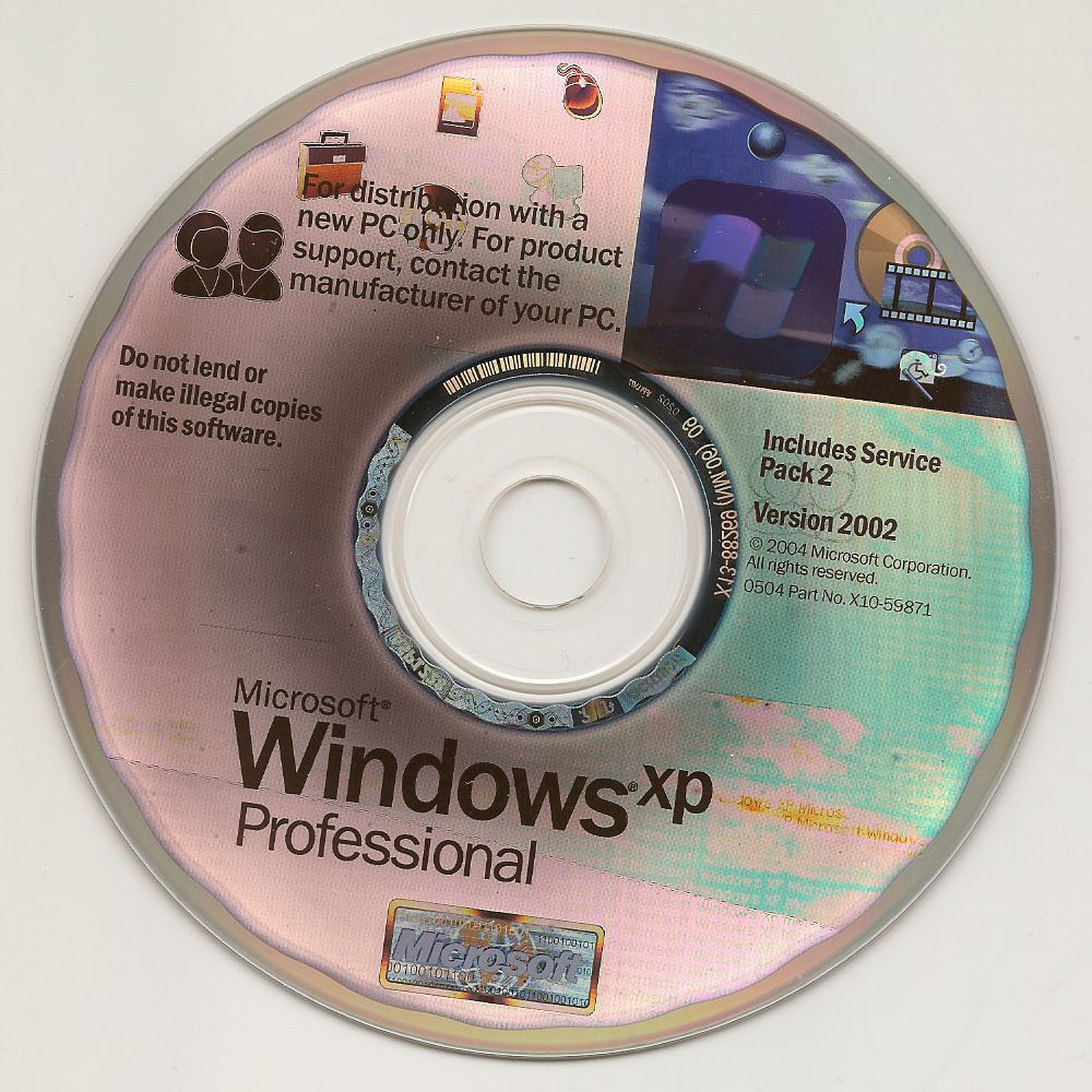 Windows XP Professional CD