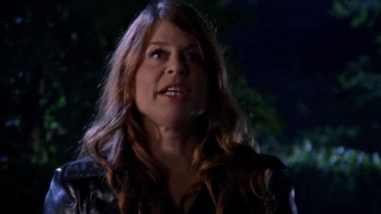 Linda Hamilton saying Come with me if you want to live on Chuck