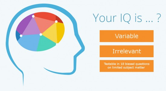 Your IQ is ... ?