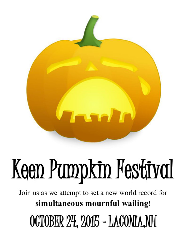 Crying Keen Pumpkin Festival