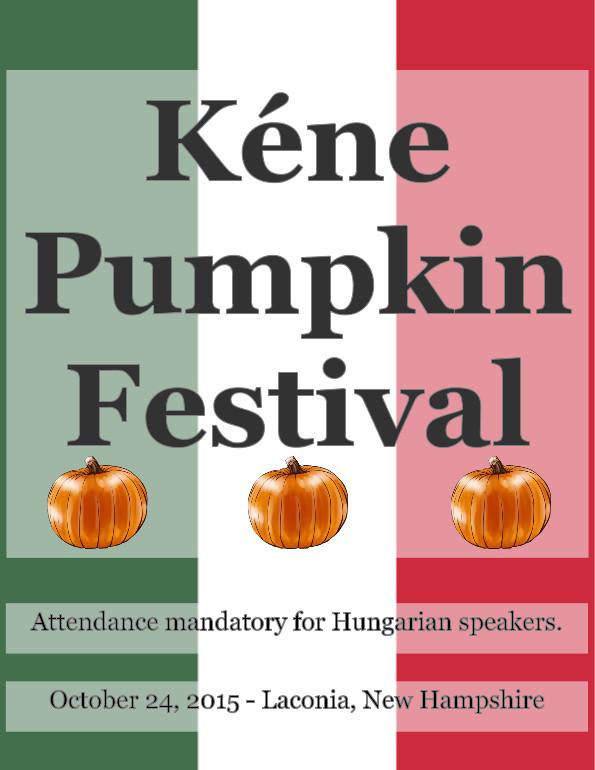 Kéne Pumpkin Festival