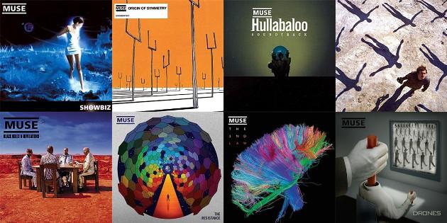 Muse album covers